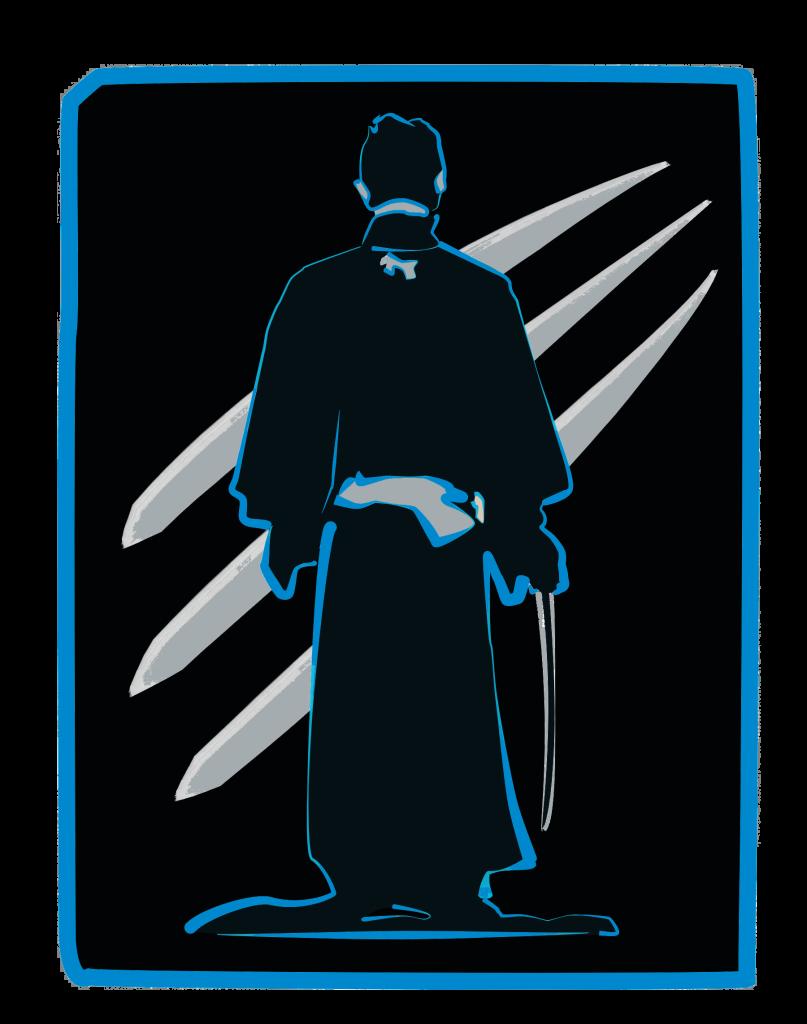 Samurai Panther dark logo